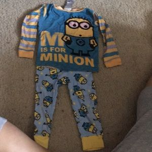 Minion pj set